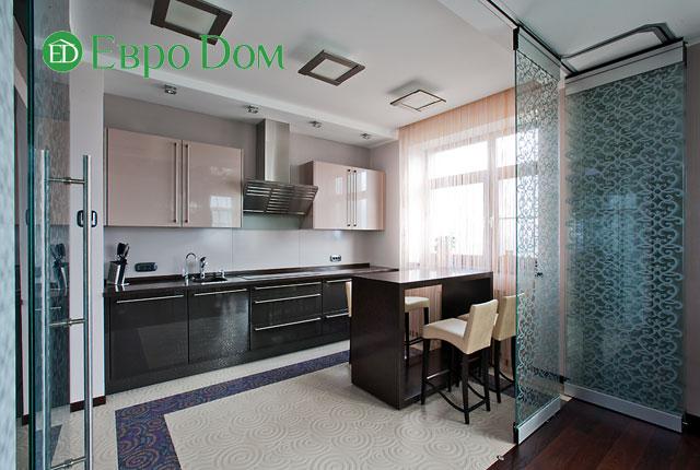 Дизайн интерьера 4-комнатной квартиры в современном стиле. Фото 010