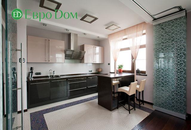 Дизайн интерьера 4-комнатной квартиры в современном стиле. Фото 014
