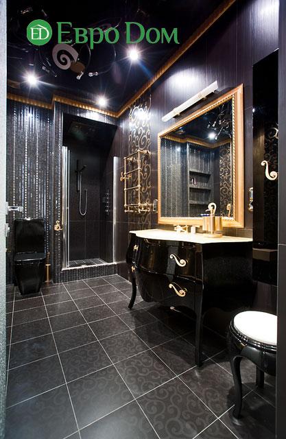 Дизайн интерьера 4-комнатной квартиры в современном стиле. Фото 019