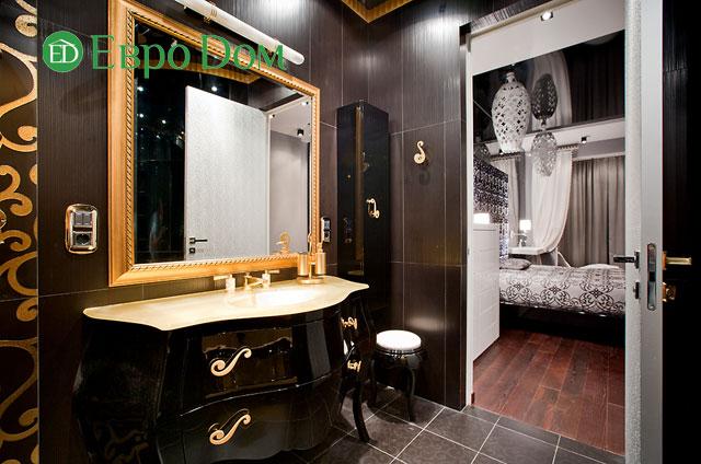 Дизайн интерьера 4-комнатной квартиры в современном стиле. Фото 024