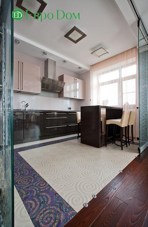 Дизайн интерьера 4-комнатной квартиры в современном стиле. Фото 027