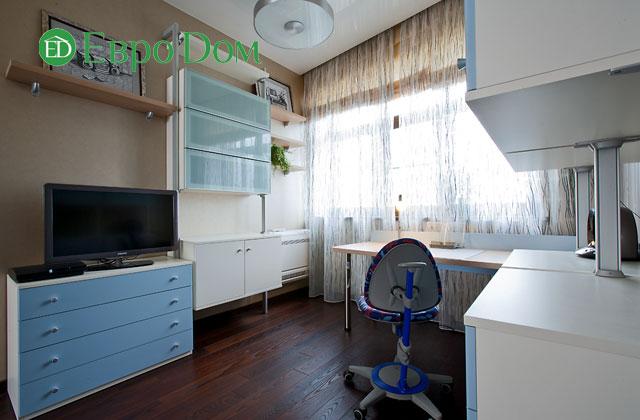 Дизайн интерьера 4-комнатной квартиры в современном стиле. Фото 031
