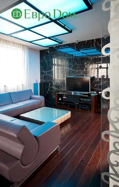 Дизайн интерьера 4-комнатной квартиры в современном стиле. Фото 032