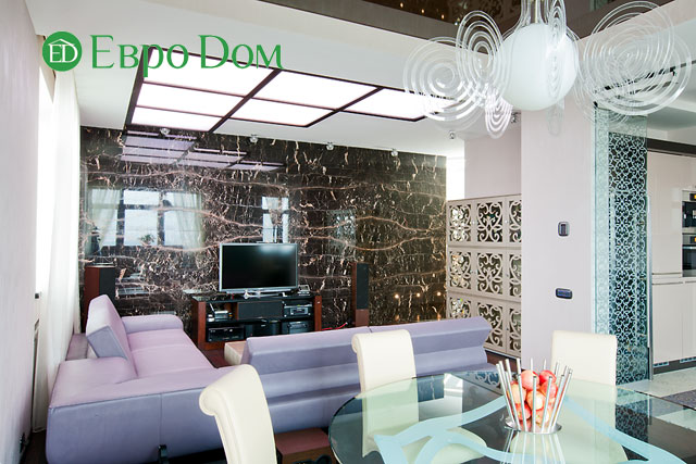 Дизайн интерьера 4-комнатной квартиры в современном стиле. Фото 033