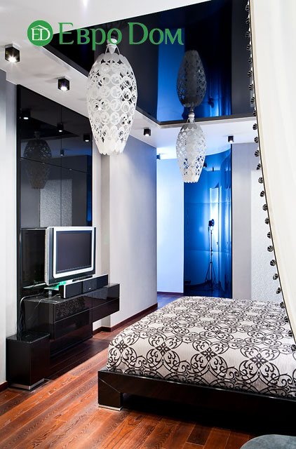 Дизайн интерьера 4-комнатной квартиры в современном стиле. Фото 034