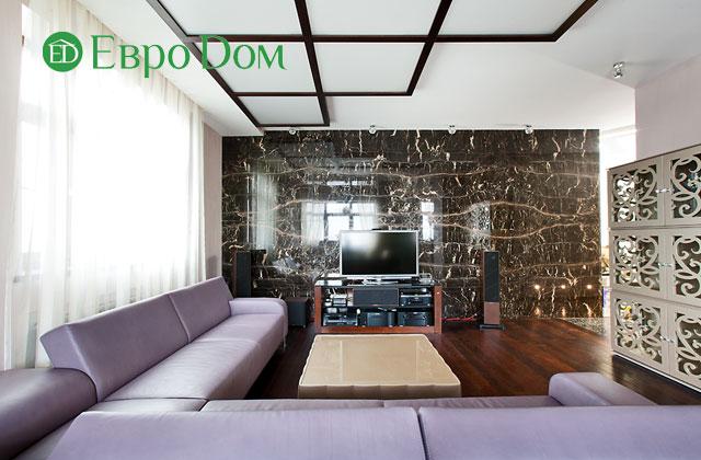 Дизайн интерьера 4-комнатной квартиры в современном стиле. Фото 042