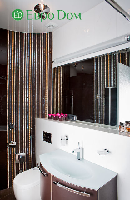 Дизайн интерьера 4-комнатной квартиры в современном стиле. Фото 044