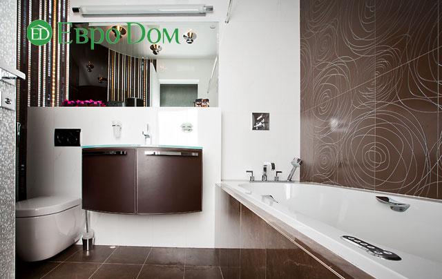 Дизайн интерьера 4-комнатной квартиры в современном стиле. Фото 046