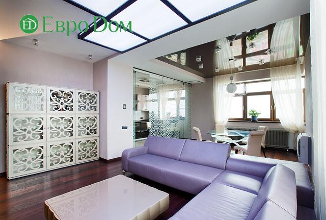 Дизайн интерьера 4-комнатной квартиры в современном стиле. Фото 054