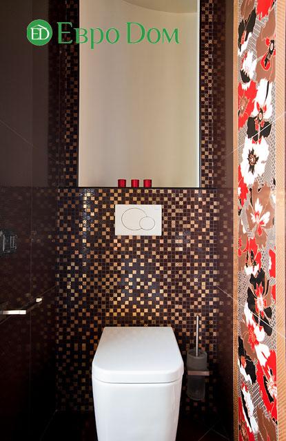 Дизайн интерьера 4-комнатной квартиры в современном стиле. Фото 060
