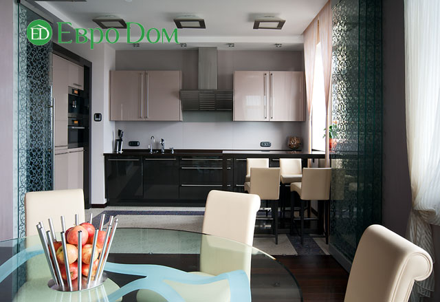 Дизайн интерьера 4-комнатной квартиры в современном стиле. Фото 079