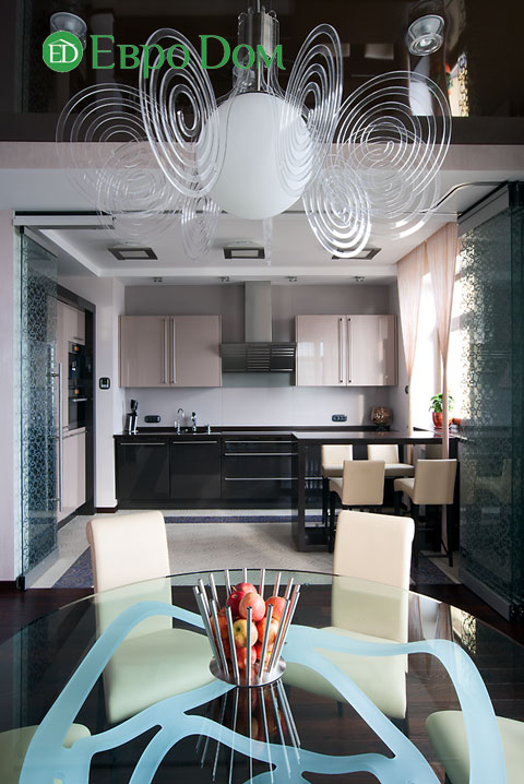 Дизайн интерьера 4-комнатной квартиры в современном стиле. Фото 087