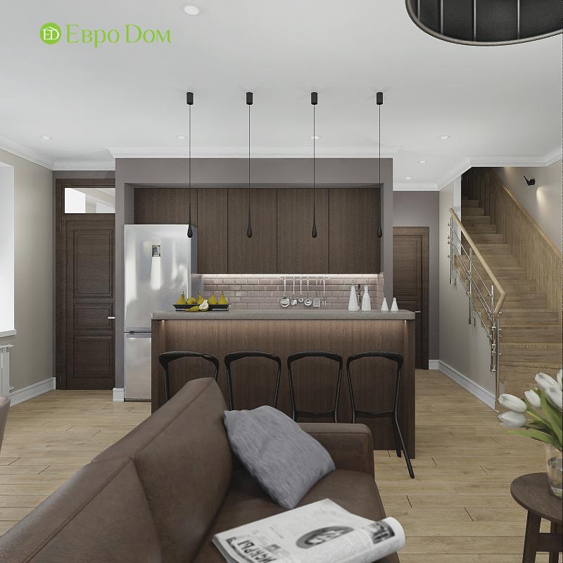 Дизайн 4-комнатной квартиры в современном стиле. Фото 08