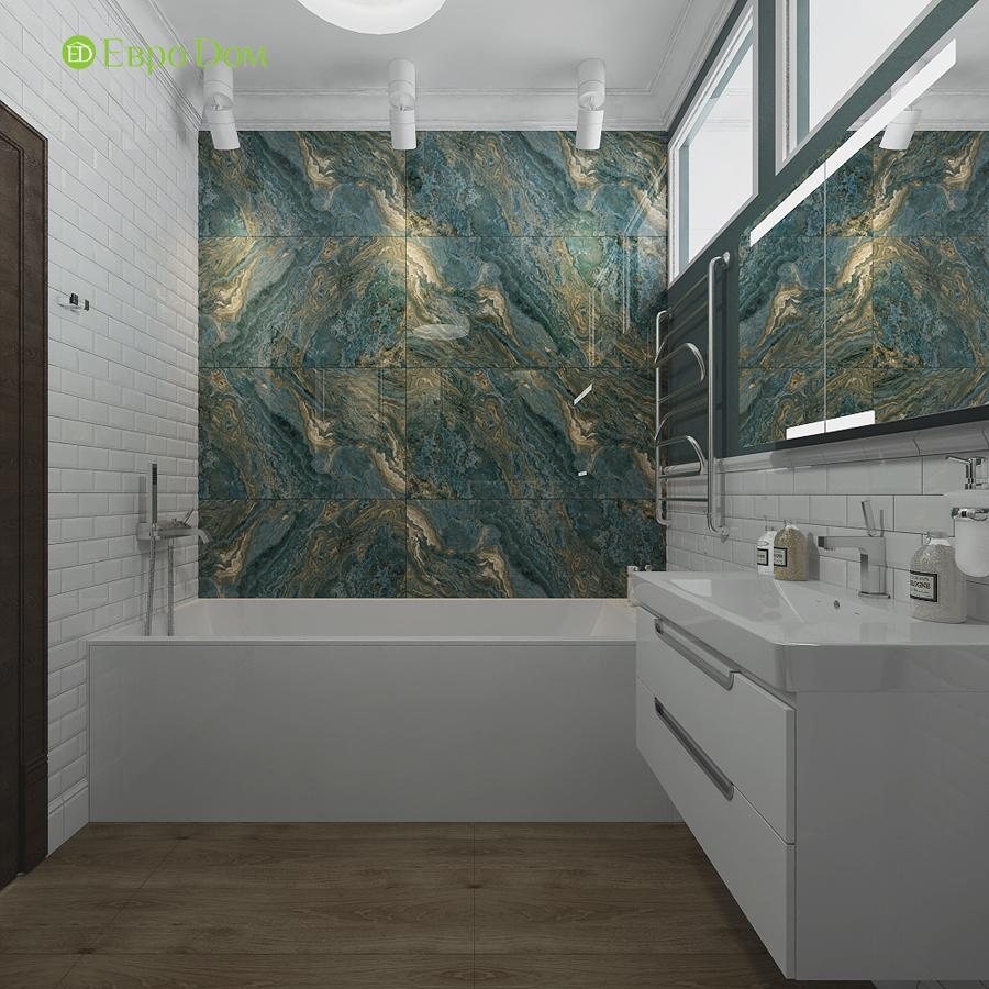Дизайн 4-комнатной квартиры в современном стиле. Фото 013