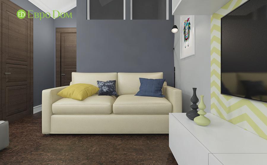 Дизайн 4-комнатной квартиры в современном стиле. Фото 020