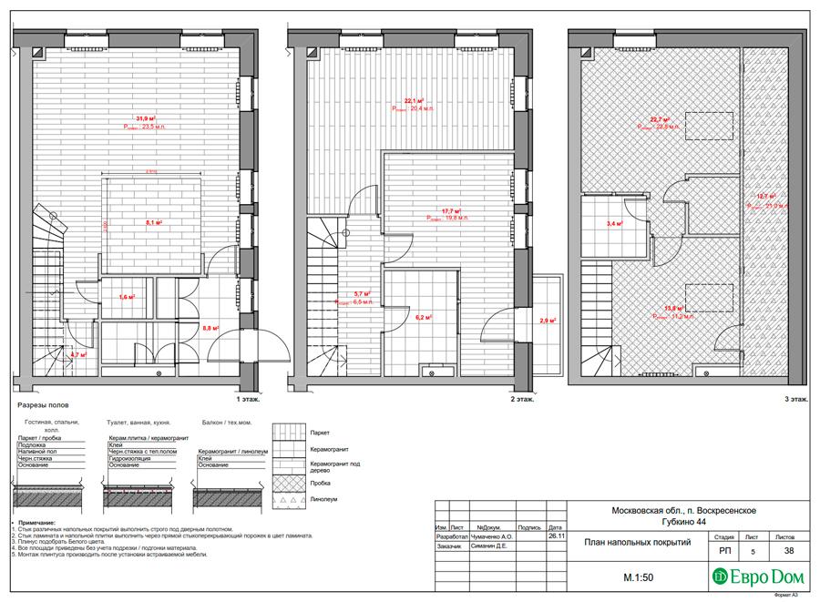 Дизайн 4-комнатной квартиры в современном стиле. Фото 029