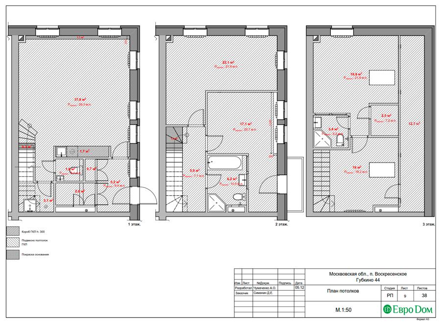 Дизайн 4-комнатной квартиры в современном стиле. Фото 033