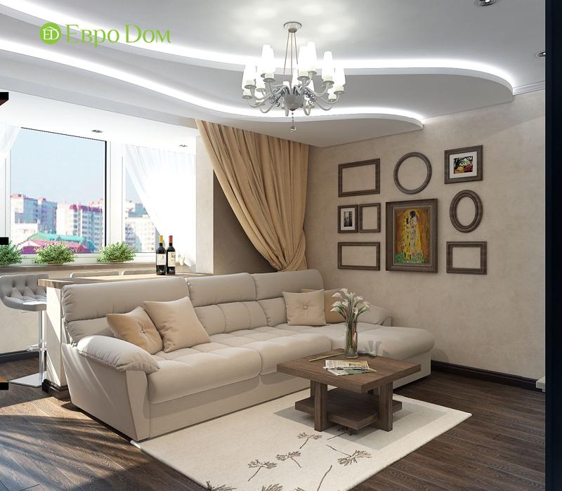 Дизайн 4-комнатной квартиры в современном стиле. Фото 06