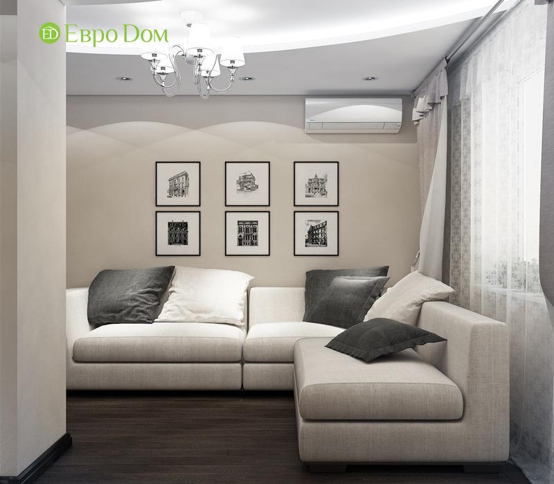 Дизайн 4-комнатной квартиры в современном стиле. Фото 07