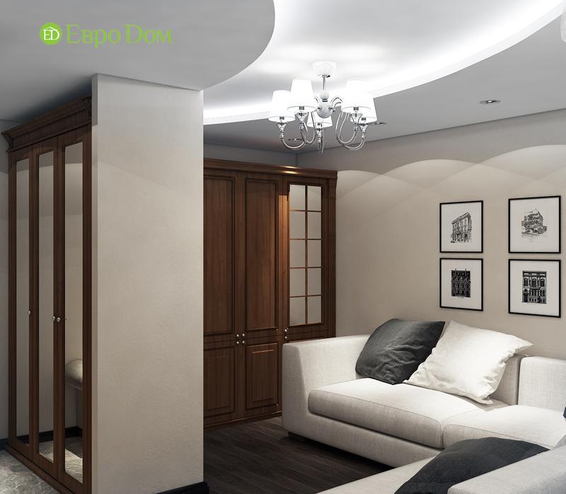 Дизайн 4-комнатной квартиры в современном стиле. Фото 09