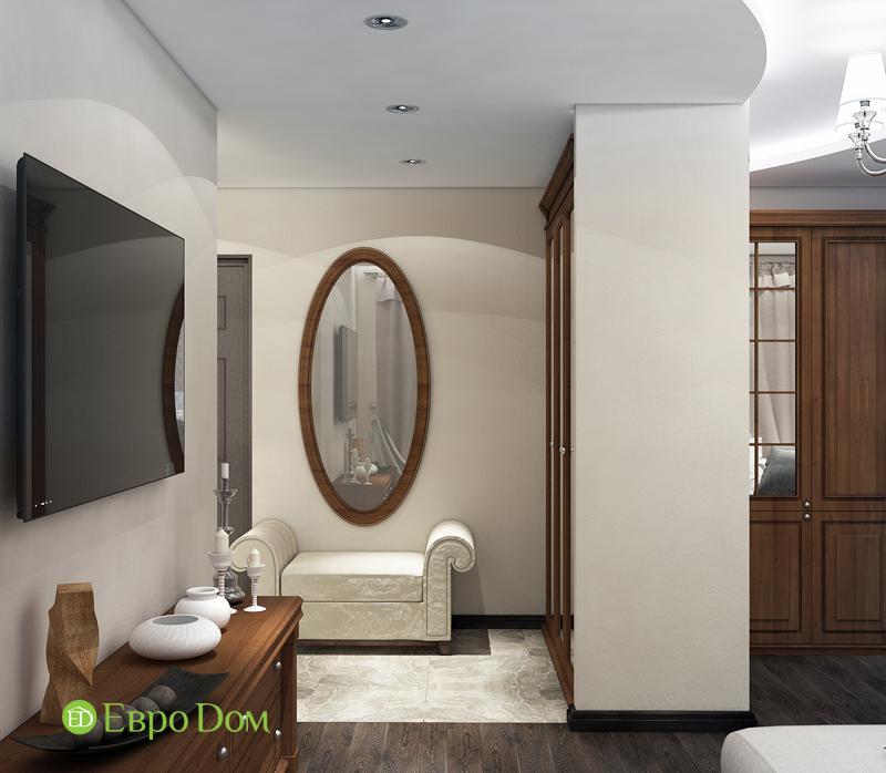 Дизайн 4-комнатной квартиры в современном стиле. Фото 011
