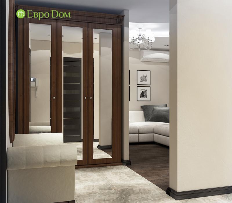 Дизайн 4-комнатной квартиры в современном стиле. Фото 012