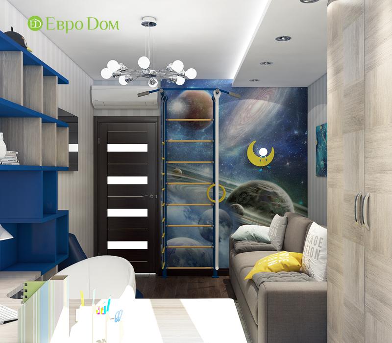Дизайн 4-комнатной квартиры в современном стиле. Фото 015