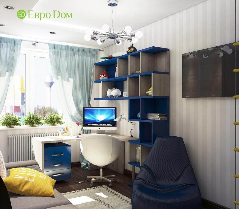 Дизайн 4-комнатной квартиры в современном стиле. Фото 017