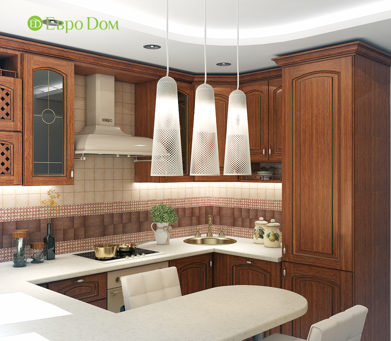 Дизайн 4-комнатной квартиры в современном стиле. Фото 018