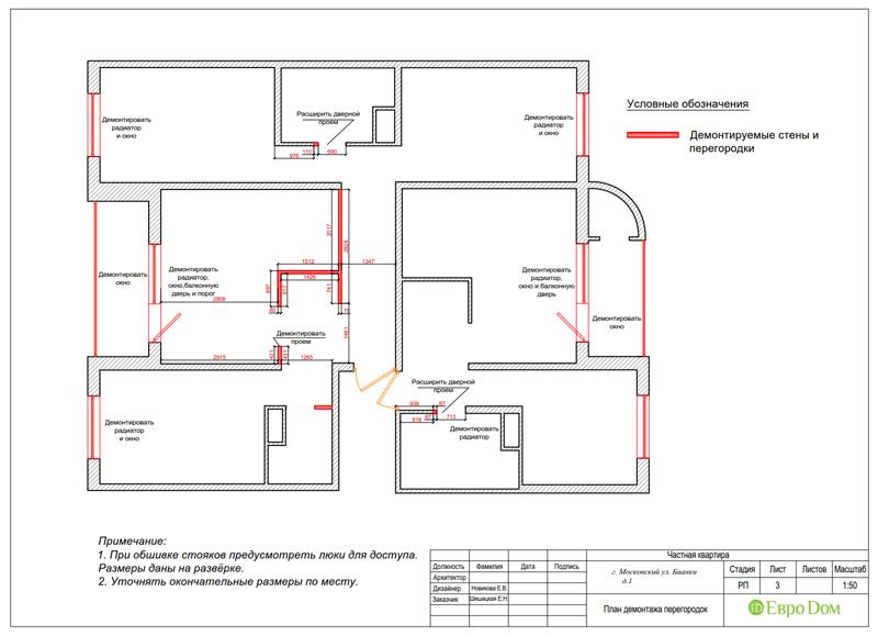 Дизайн 4-комнатной квартиры в современном стиле. Фото 031