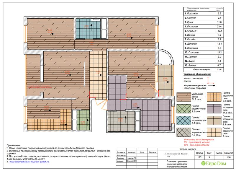 Дизайн 4-комнатной квартиры в современном стиле. Фото 037
