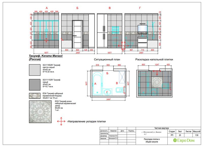 Дизайн 4-комнатной квартиры в современном стиле. Фото 048
