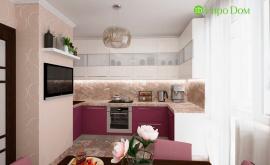 Дизайн интерьера четырехкомнатной квартиры 102 кв.м. по адресу г. Москва, ул. Инженерная, д. 8а. Фото 1