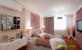 Дизайн интерьера четырехкомнатной квартиры 102 кв.м. по адресу г. Москва, ул. Инженерная, д. 8а. Фото 3