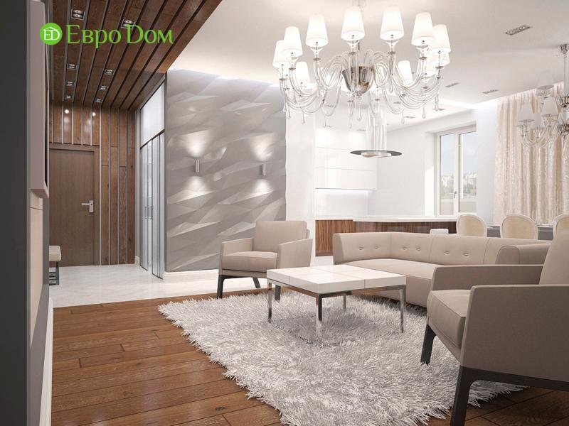 Дизайн 4-комнатной квартиры 192 кв. м в стиле классицизм. Фото 03