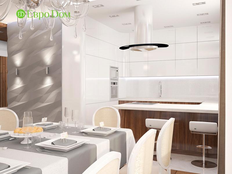 Дизайн 4-комнатной квартиры 192 кв. м в стиле классицизм. Фото 04