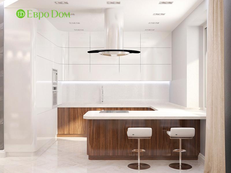 Дизайн 4-комнатной квартиры 192 кв. м в стиле классицизм. Фото 05