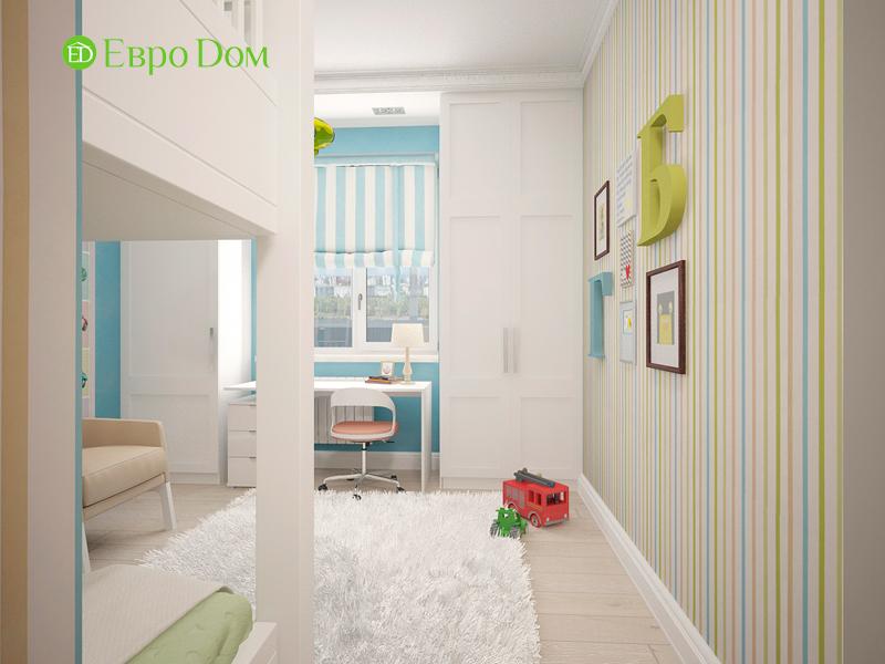Дизайн 4-комнатной квартиры 192 кв. м в стиле классицизм. Фото 07