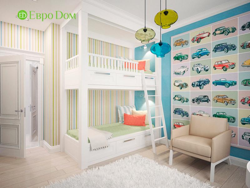 Дизайн 4-комнатной квартиры 192 кв. м в стиле классицизм. Фото 08
