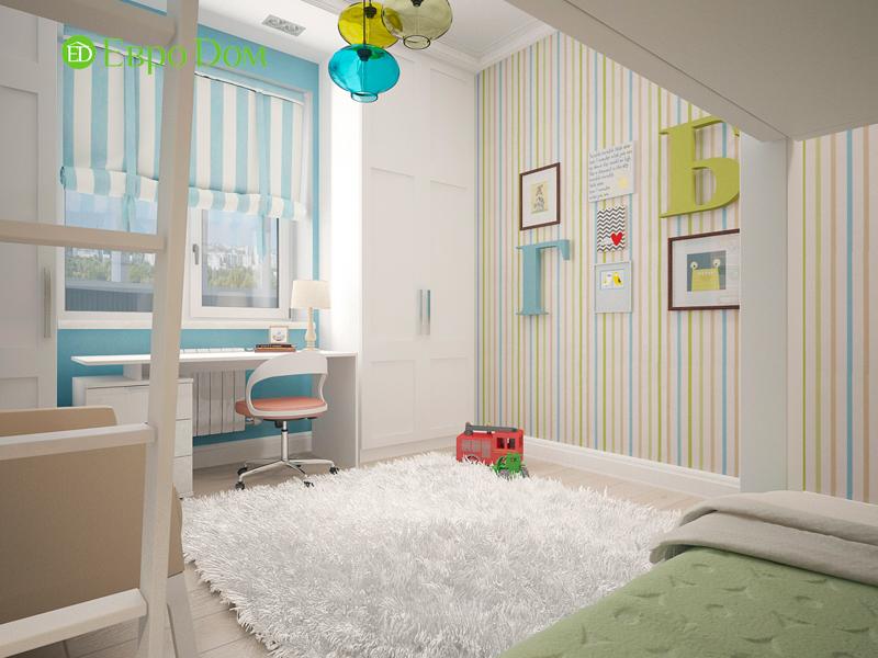 Дизайн 4-комнатной квартиры 192 кв. м в стиле классицизм. Фото 09