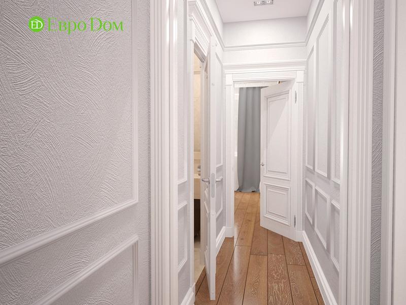 Дизайн 4-комнатной квартиры 192 кв. м в стиле классицизм. Фото 010