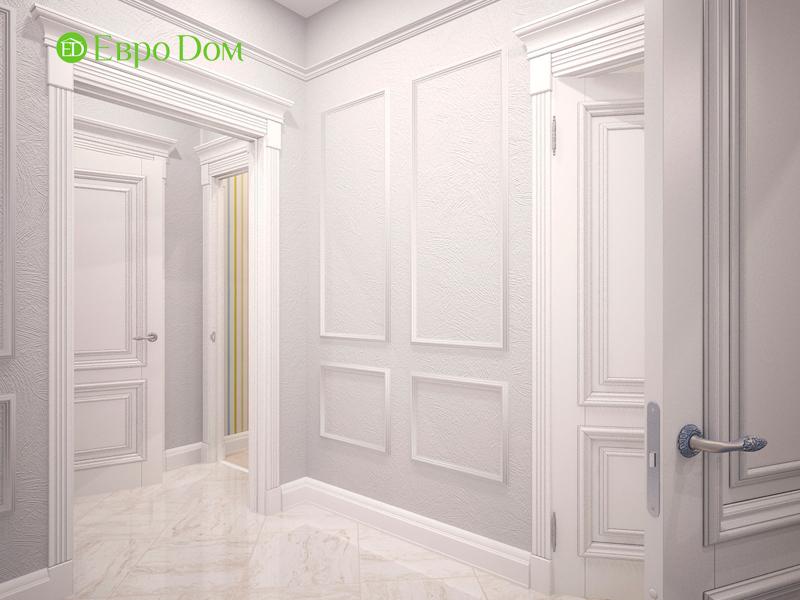 Дизайн 4-комнатной квартиры 192 кв. м в стиле классицизм. Фото 011