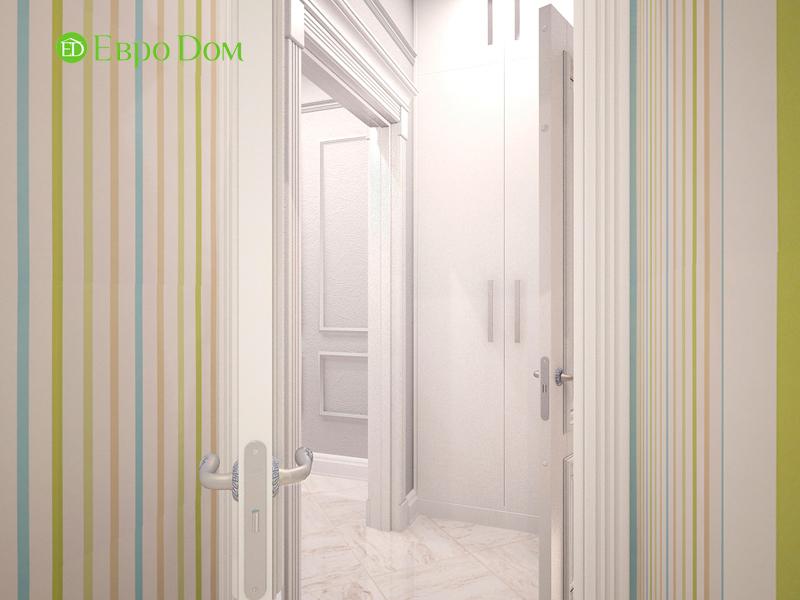 Дизайн 4-комнатной квартиры 192 кв. м в стиле классицизм. Фото 012