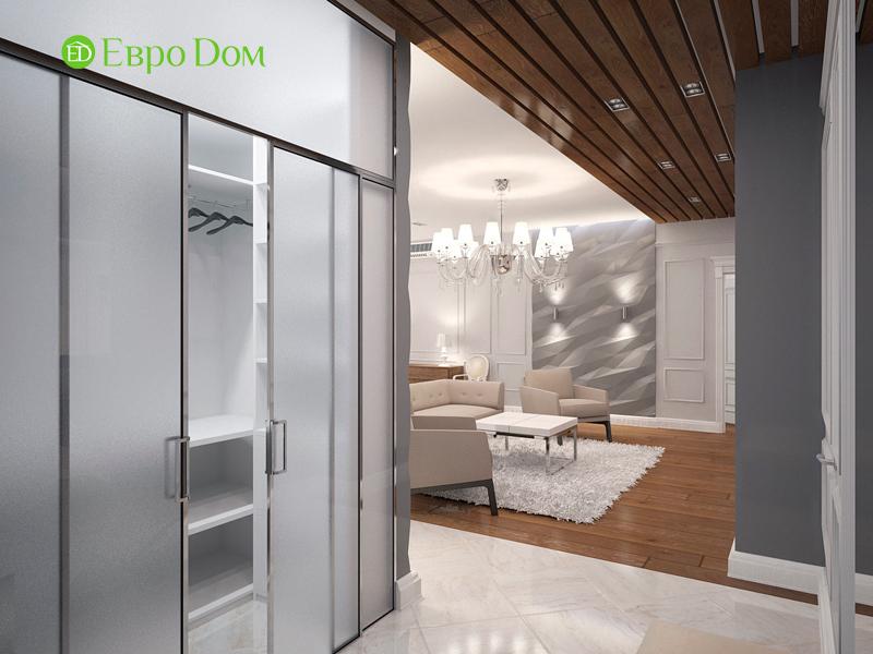 Дизайн 4-комнатной квартиры 192 кв. м в стиле классицизм. Фото 013