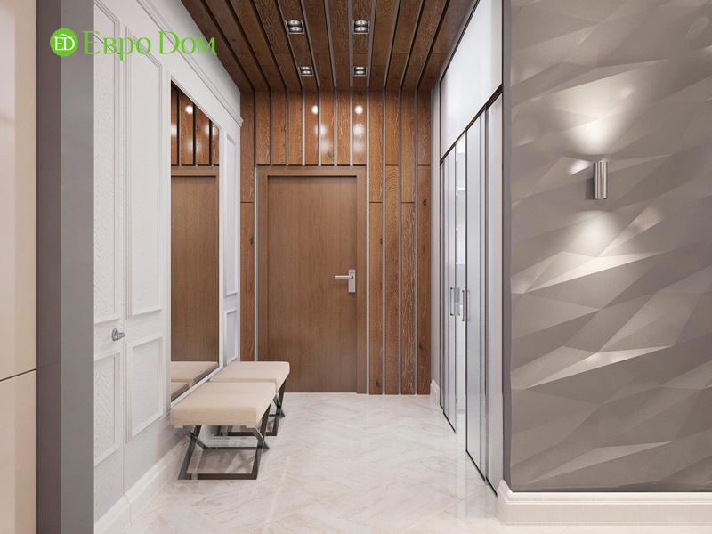 Дизайн 4-комнатной квартиры 192 кв. м в стиле классицизм. Фото 015