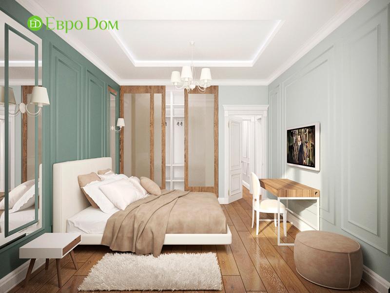 Дизайн 4-комнатной квартиры 192 кв. м в стиле классицизм. Фото 018