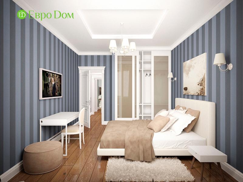 Дизайн 4-комнатной квартиры 192 кв. м в стиле классицизм. Фото 020