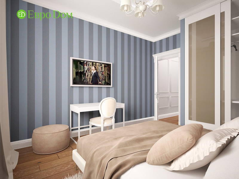Дизайн 4-комнатной квартиры 192 кв. м в стиле классицизм. Фото 024