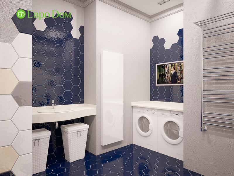 Дизайн 4-комнатной квартиры 192 кв. м в стиле классицизм. Фото 026