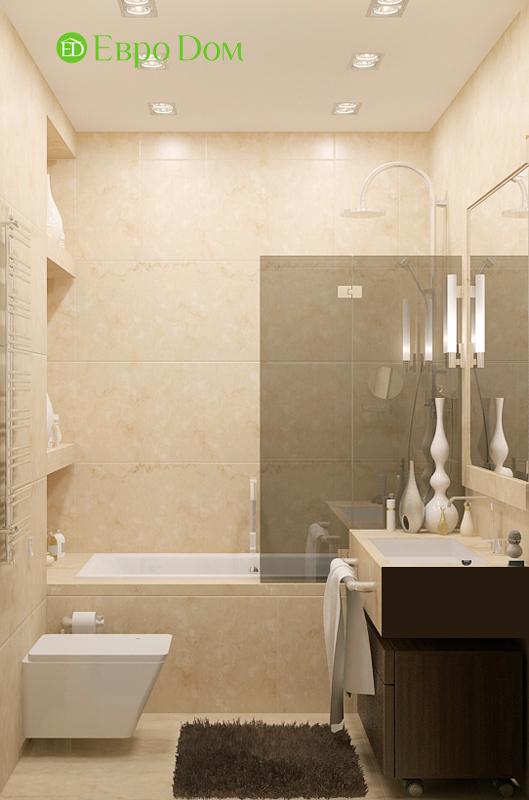 Дизайн 4-комнатной квартиры 192 кв. м в стиле классицизм. Фото 028